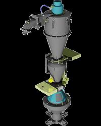 Grade Control Fixed Cone Splitter System